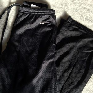 Youth Black Nike Sweatpants